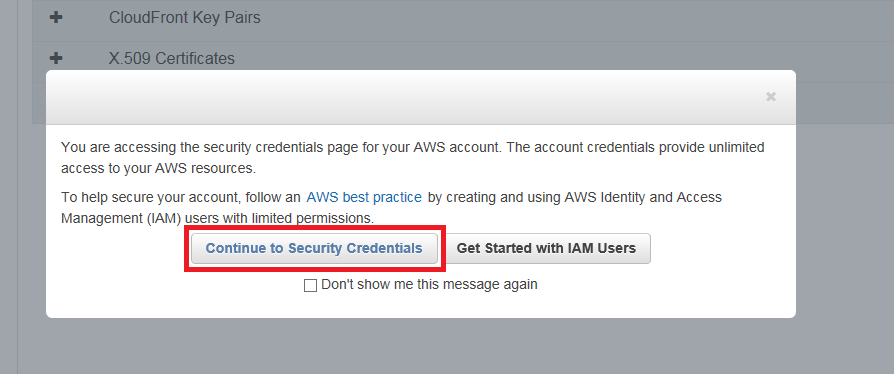 AWS Permissions – Teraproc – Application Cluster-as-a-Service